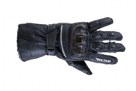 Richa Ravine Leather Summer Gloves Black